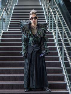 Galeria de Fotos Fora da caixa: o street style superoriginal da semana de moda de Tóquio // Foto 12 // Notícias // FFW