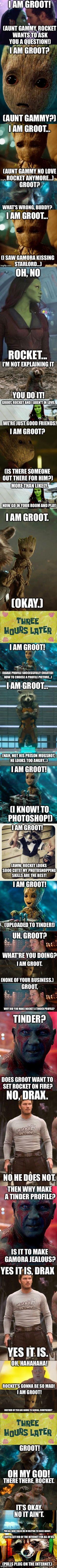 Groot's Internet Adventures: Revenge for Rocket