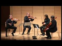 ▶ Szymanowski Quartet - J.Haydn String Quartet in C Major, op.76 no.3 II. Poco adagio, cantabile - YouTube