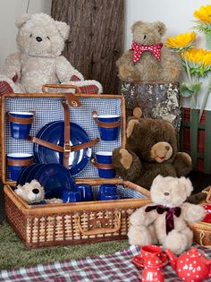 Click to Close Apple Jam, Apples, Picnic, Parties, Teddy Bear, Toys, Children, Animals, Fiestas