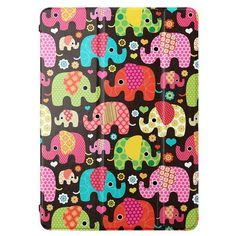 Lofter - iPad Air Hoes - Smart Case Cover Classic Elephant | Shop4TabletHoes