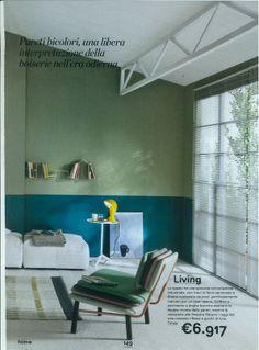 "Elmetto lamp on ""Home"" magazine"