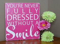 Cute idea for near girls mirror.