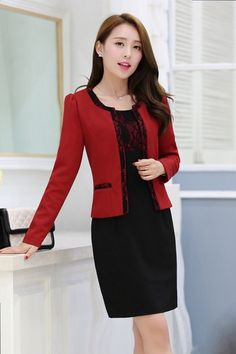 Free delivery | 100% Same Item | Made in Vietnam Black Dress Red Jacket ₱1850.00 #Dress #igersmanila #travelph #me #onlineshopph #lovethislook #look #pinay #lookoftheday #todayiwore