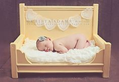 Newborn Photography Prop Bed Daybed Or Large Chair Style Doll Photo