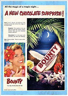'Bounty Chocolate Coconut Bar' (2) A Beautiful A4 Glossy ... https://www.amazon.co.uk/dp/B07BSYBKYV/ref=cm_sw_r_pi_dp_x_DRHVAb876R154