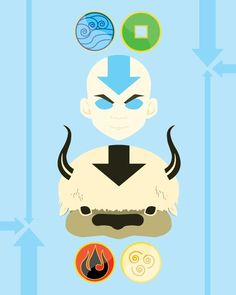 Avatar The Last Airbender Henna Tattoo Aang's Glider