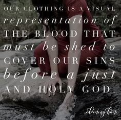 """""""God looks at the heart. It doesn't matter what I wear."""" I have heard this phrase, or a variation of it, time and time again. This statement grieves me. And yet, I realize that it…"""