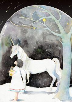 .msrl. 独角兽,Unicorn。