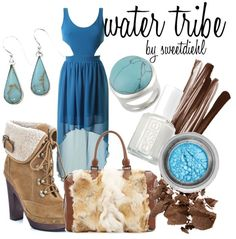 Water Tribe Inspired Outfit - Avatar: The Last Airbender
