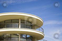 Art Deco Balcony.