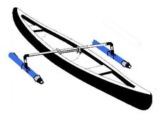 Homemade Canoe Stabilizer
