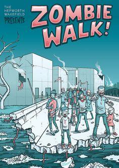 Zombie Walk by Hammo