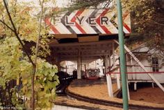 The Mountain Flyer, which was since bulldozed. Holyoke, MA.