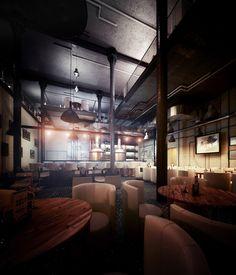 Old Brewery by Pawel Podwojewski, via Behance
