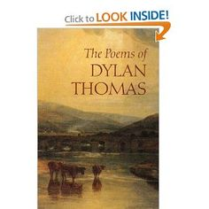 Book of Dylan Thomas poems.