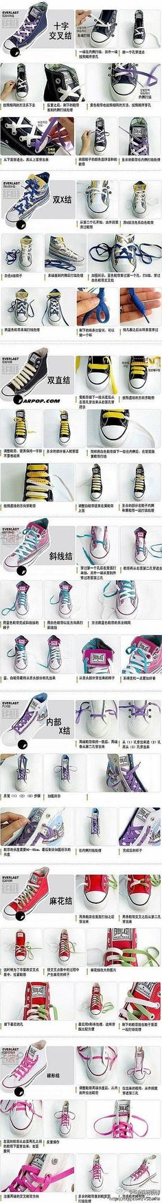 7 Best ways to lace shoes images | Ways to lace shoes, Shoes