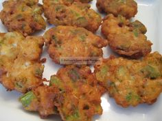 Oven fried okra fritters