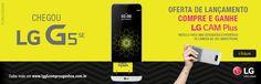 Smartphone LG G5 SE 32GB Dourado 4G  R$ 3.799,00  em até 10x de R$ 379,90 sem juros no cartão de crédito ou R$ 3.343,12 à vista Compre pelo whatsapp: 47 9696-9876 ou no link da loja: https://www.magazinevoce.com.br/magazineonlineuniversity/busca/lg%20g5%20/