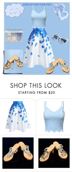 JEWELRY-FOR-YOUR-FEET. by kiveric-damira on Polyvore featuring moda, Chicwish, Pinko, beautiful, cozy and fashionable
