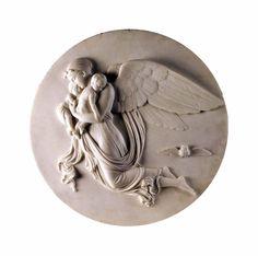 Bertel Thorvaldsen raffigurò questa Allegoria della Notte nel 1815 e oggi potete ammirarla al Museo Nazionale di Capodimonte, Napoli.