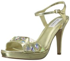 Dyeables Women's Kelly Platform Sandal -- Visit the image link more details.