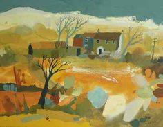 Richard Tuff - Cottages below Rough Tor.