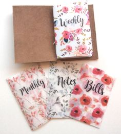 Sunshine Floral Vellum Planner Dashboards For TN's and Midori Travelers Notebook by PlannerPress on Etsy https://www.etsy.com/listing/499896449/sunshine-floral-vellum-planner