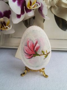 Goose Shell Egg Carved Unique Gift Breath of от DreamPresents