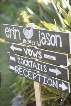 Outdoor wedding idea