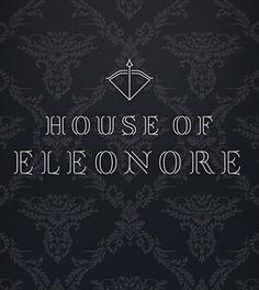 House of Eleonore (Royal Asscher) - Typography Typography, Branding, Positivity, Marketing, Movie Posters, Design, Letterpress, Brand Management, Letterpress Printing
