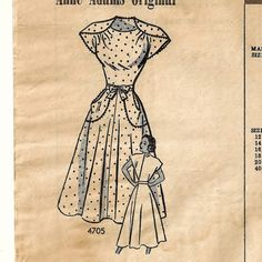 A Back Wrap, Front Waist Tied, Cap Sleeve, Flared Skirt Dress Pattern by So Sew Some!