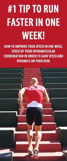 This simple drill will significantly improve your running speed in only one week!