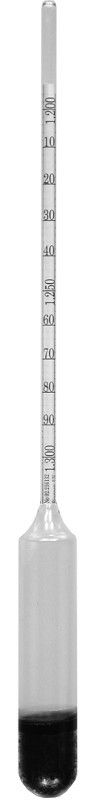 Specific Gravity Hydrometer 200 Series 250mm