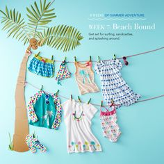 Week 7 of Summer Adventures is here! We'll be pinning everything you need for fun at the beach.
