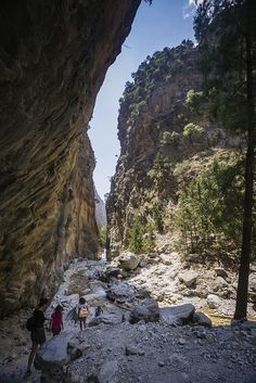 Samaria Gorge - Crete, Greece