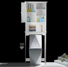 AdecoTrading Over the Toilet Storage Spacesaver Shelves Wayfair $146.99