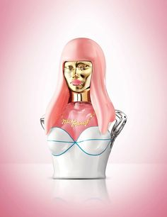✯ Pink Friday Nicki Minaj Perfume ✯ Apparently smells really good, but the bottle is a little creepy. I want this X10000000000000 #1
