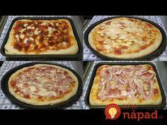 Come fare la pizza in casa, leggera altissima digeribilità - Recipe Ital. Pasta Salad Recipes, Pizza Recipes, Easy Dinner Recipes, Biscotti, Bread Machine Recipes, Soul Food, Italian Recipes, Nutella, Food And Drink