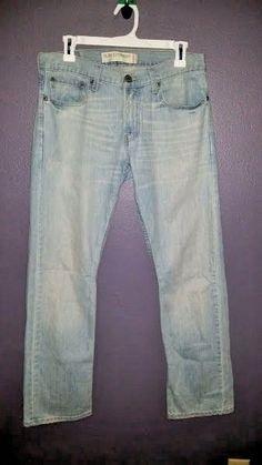 * Levis * Jeans Slim Straight 31/30 jeans Classic Levi's Light Blue Casual  #Levis #SlimSkinny