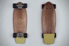 Salt Surf Walnut Skateboard