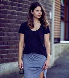 Sara Donaldson of Harper and Harley in Witchery tee