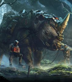 CyberClays Rebel forest forces that sometimes raid the ganks/wagons Fantasy Concept Art, Dark Fantasy Art, Fantasy Artwork, Fantasy World, Fantasy Creatures, Mythical Creatures, Fantasy Beasts, Fantasy Warrior, Fantasy Landscape