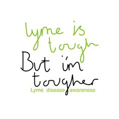 Lyme is tough, i'm tougher (lyme disease) by thespoonieshop