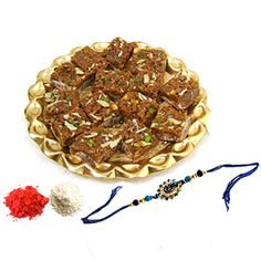 Buy #Rakhi #online for their brothers in India or around the world from #Ferns N Petals. http://goo.gl/WEZonk