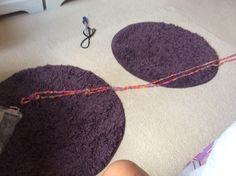 My longest loom and boy it's longer than the picture. I couldn't fit it all in