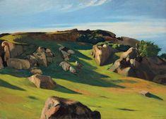 Edward Hopper (1882-1967) Cape Ann Granite, 1928.