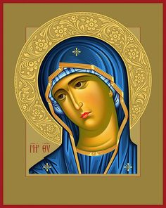 Религиозное искусство Spiritual Paintings, Religious Paintings, Religious Icons, Religious Art, Christian Images, Russian Icons, Blessed Mother Mary, Byzantine Icons, Holy Mary