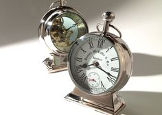 ethanallencom pocket watch desk clock with a wink to the past and a nod to days bennington ethan allen desk