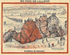 'No Paiz de Lilliput' por R.B.P.